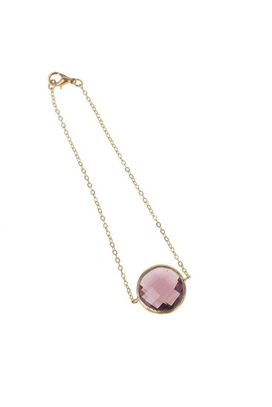 MYBLY Bracelet Aubergine