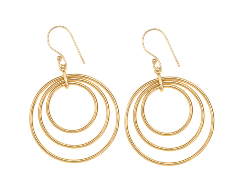 3-ring goldplated