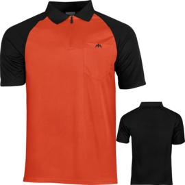 Exos shirt oranje/zwart