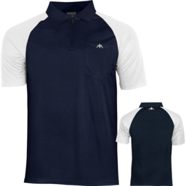 Exos shirt navy/wit