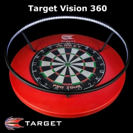 Target Vision 360 dartbord lighting systeem