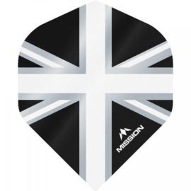 Union Jack Zwart/Wit No2