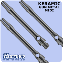 Harrows Keramic gun metal midi