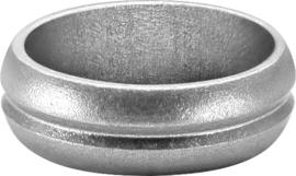 F-Lock Aluminium Rings Zilver