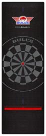 Bull's Carpet Dartmat 300x95 cm Black met oche