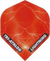 Triathlon Lightning Std. Clear Red