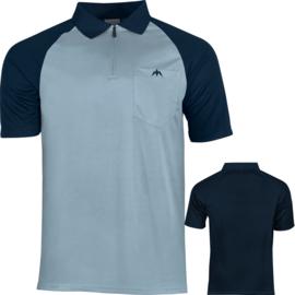 Exos shirt sky/navy blauw