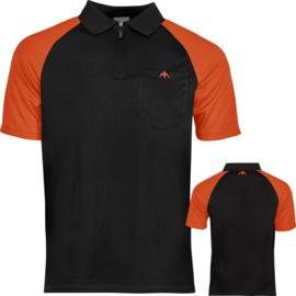 Exos shirt zwart/oranje