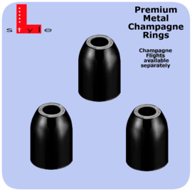 Metal Premium Rings Zwart