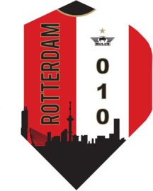 Rotterdam Skyline Rood