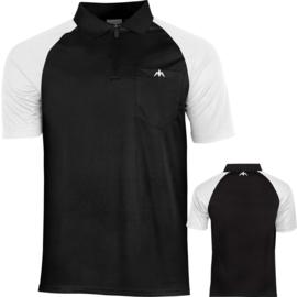 Exos shirt zwart/wit