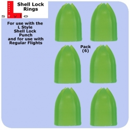 shell lock cups groen