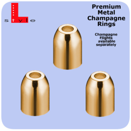 Metal Premium Rings Goud