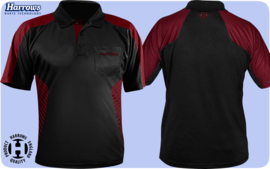 Maat Harrows Vivid Dart Shirt Donker Rood