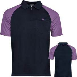Exos shirt navy/paars
