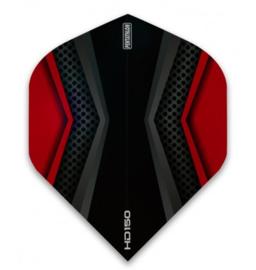 Pentathlon 150 zwart/rood