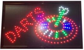 Darts Led Board 55 x 33 cm