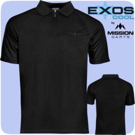 Exos shirt zwart