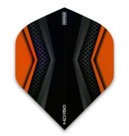 Pentathlon 150 zwart/oranje