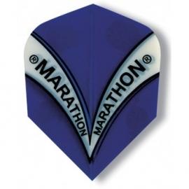 marathon blauw