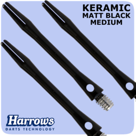 Harrows Keramic zwart medium