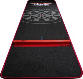 Bull's Carpet Dartmat 300x65 cm met oche