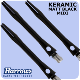 Harrows Keramic zwart midi