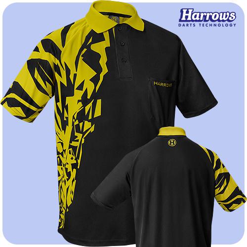 Harrows Rapide Dart Shirt Geel