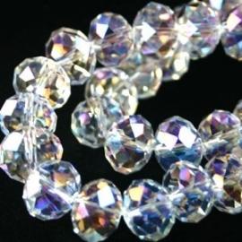 facet kraal crystal AB glans
