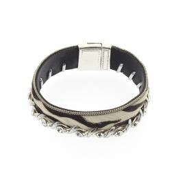 Biba armband Zebra