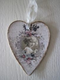 decoratiehanger hart, clayre & Eef