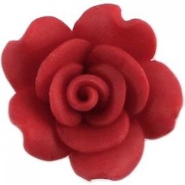roosje fimo, rood