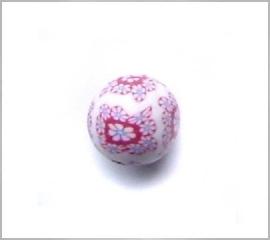 fimokraal wit/roze