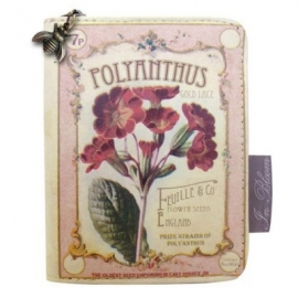 In Bloom Polyanthus wallet