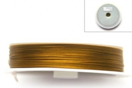 metaaldraad goudkleurig