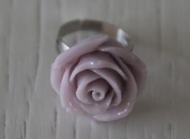 ring roosje, vintage roze
