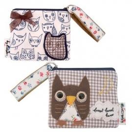 Sugar coated owl portemonnee