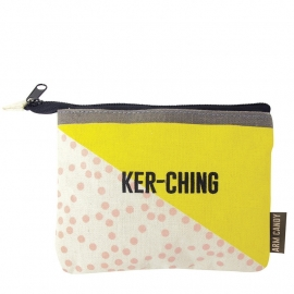 Arm candy 'Ker-ching' purse