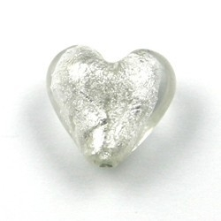 kraal hart zilverfolie