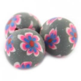 fimokraal roze/grijs