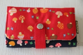 Double printed wallet