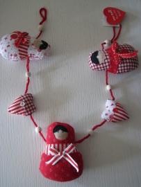 decoratieslinger baboushka,Sass & Belle