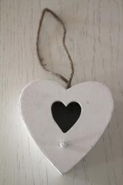 hanger vogelhuisje hart