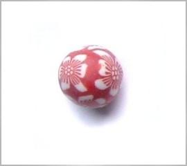 fimokraal wit/rood