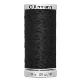 Gutermann 000 Zwart | Super sterk naaigaren 100m
