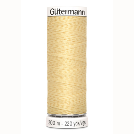 Gutermann 325 Licht geel  | Naaigaren 200m
