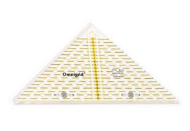 OMNIGRID Patchwork Liniaal Driehoek tot 20 cm