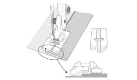 HUSQVARNA Doorstikvoet met linker geleiding