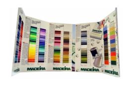 MADEIRA Kleurenkaart