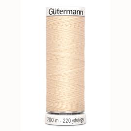 Gutermann 5 Ecru | Naaigaren 200m